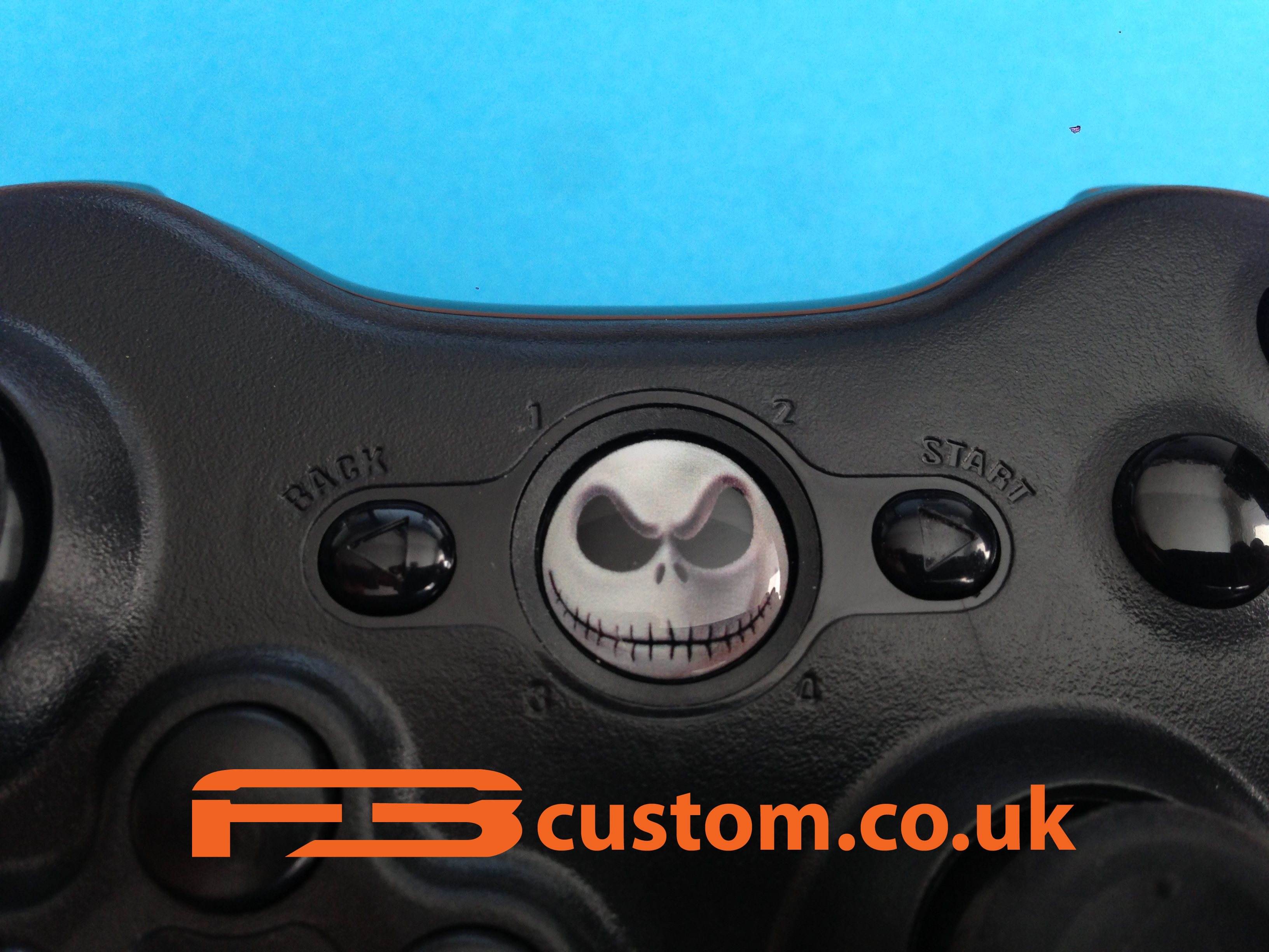 Custom XBOX 360 * Nightmare Before Christmas * Guide button F3custom ...