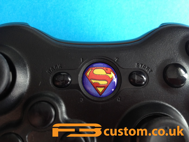 Custom XBOX 360 * Superman * Guide button | eBay